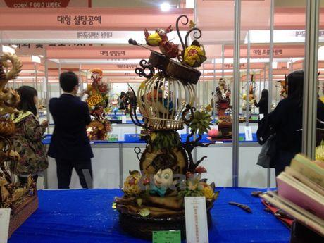 Chiem nguong nghe thuat tao hinh tu banh tai Seoul Food Week - Anh 6