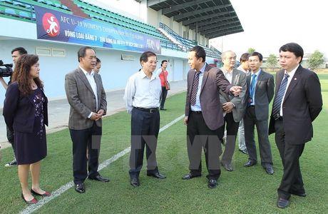 Nguyen Chu tich nuoc Nguyen Minh Triet: Can chu y dao tao bong da tre - Anh 1