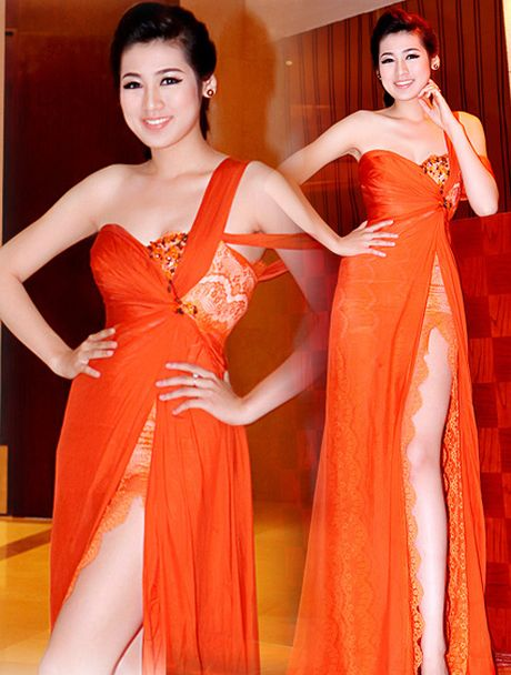 A Hau Tu Anh dien vay ngan, khoe chan dai can moc 1m05 - Anh 7