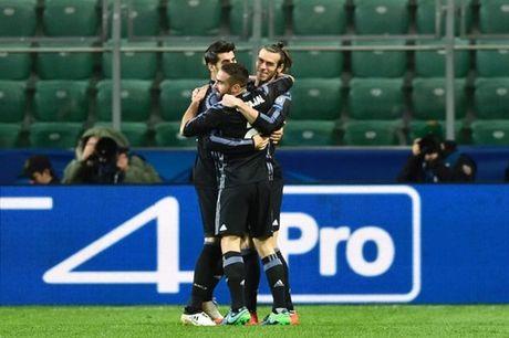 5 diem nhan sau tran Legia Warsaw 3-3 Real Madrid - Anh 1
