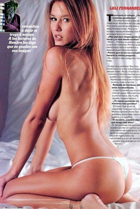 Luli Fernandez - nang WAGs tuyet sac xu Tango - Anh 8