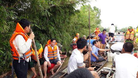 Quang Binh: 3 nguoi chet va mat tich trong lu - Anh 1