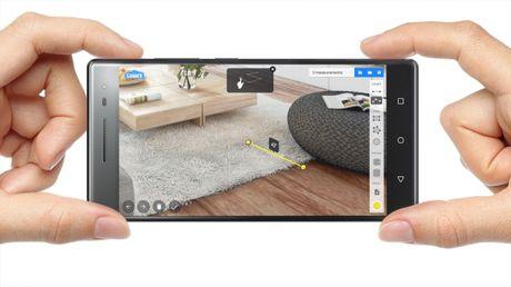 Lenovo Phab 2 Pro chinh thuc len ke: diem nhan Project Tango - Anh 1