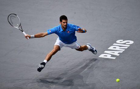 Djokovic va Murray cung thang trong tran ra quan giai Paris Masters - Anh 1