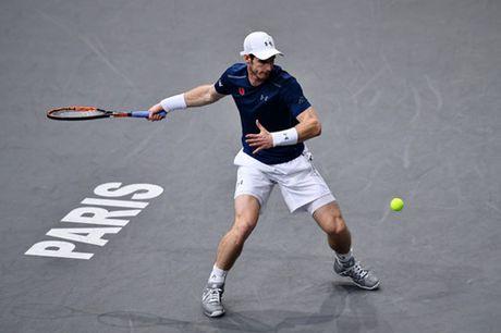 Djokovic va Murray cung thang trong tran ra quan giai Paris Masters - Anh 2