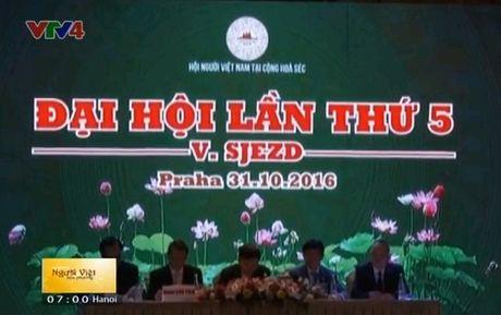 Hoi nguoi Viet Nam tai Cong hoa Czech to chuc dai hoi - Anh 1