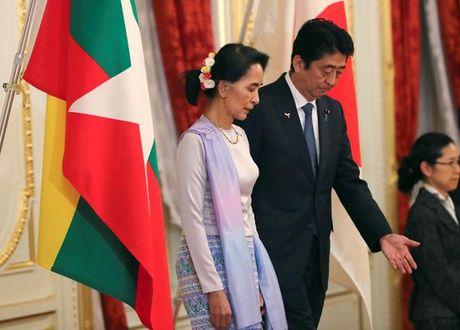 Nhat Ban vien tro Myanmar 7,73 ti USD - Anh 1