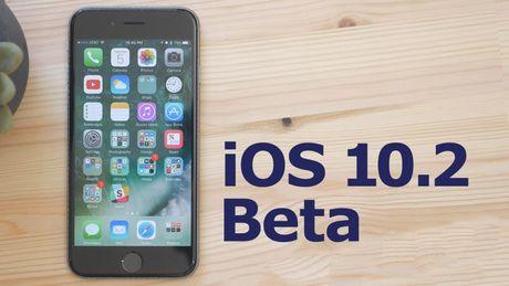 Apple phat hanh iOS 10.2 beta voi cai dat camera cai tien - Anh 1