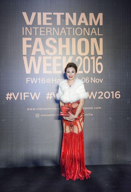 'Rung' sao Viet khoe sac tren tham do Vietnam International Fashion Week thu dong 2016 - Anh 11