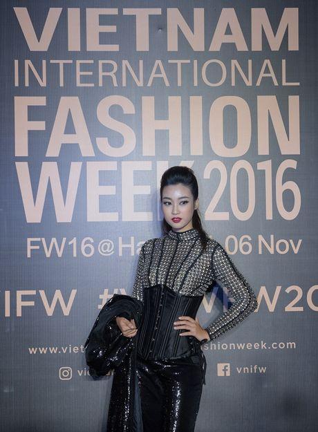 'Rung' sao Viet khoe sac tren tham do Vietnam International Fashion Week thu dong 2016 - Anh 12