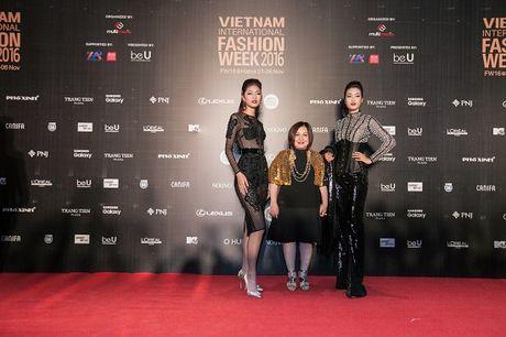 'Rung' sao Viet khoe sac tren tham do Vietnam International Fashion Week thu dong 2016 - Anh 14