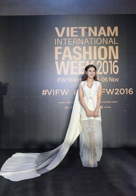 'Rung' sao Viet khoe sac tren tham do Vietnam International Fashion Week thu dong 2016 - Anh 18
