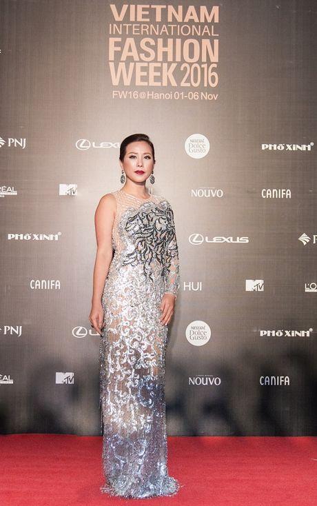 'Rung' sao Viet khoe sac tren tham do Vietnam International Fashion Week thu dong 2016 - Anh 5