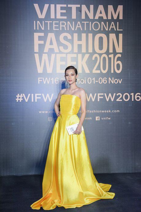 'Rung' sao Viet khoe sac tren tham do Vietnam International Fashion Week thu dong 2016 - Anh 8