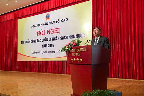 TANDTC to chuc tap huan quan ly ngan sach Nha nuoc nam 2016 - Anh 1