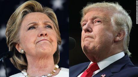 Khao sat tin nhiem: Trump, Clinton 'ke tam lang, nguoi nua can' o mien Nam nuoc My - Anh 1