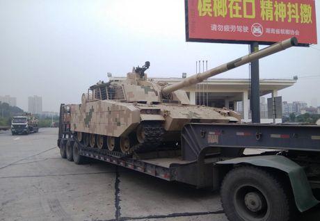 Sau tiem kich J-20, Trung Quoc cong bo xe tang hien dai - Anh 2