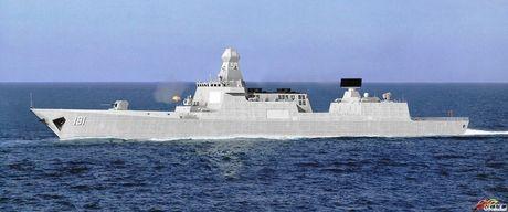 Sieu ham USS Zumwalt My co ha thu duoc tau khu truc 'khung' Type 055 Trung Quoc - Anh 3