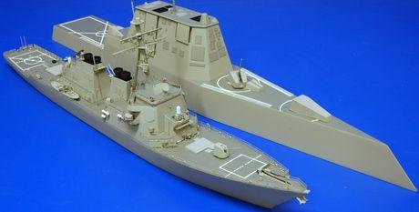 Sieu ham USS Zumwalt My co ha thu duoc tau khu truc 'khung' Type 055 Trung Quoc - Anh 4