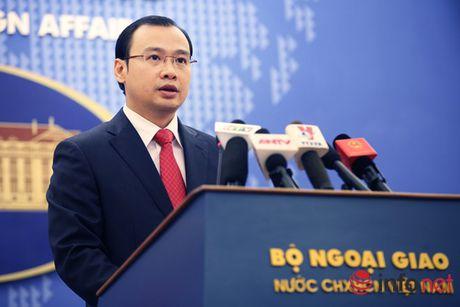 Quan diem cua Bo Ngoai giao Viet Nam ve su chuyen huong chinh sach Bien Dong cua Phillipines va Malaysia - Anh 1