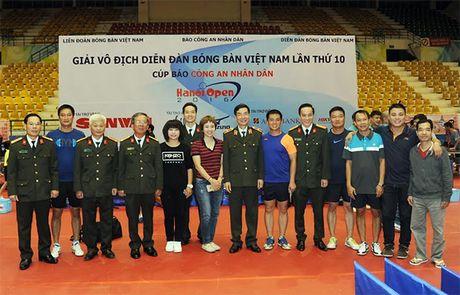 Khai mac Giai vo dich Dien dan bong ban Viet Nam lan thu 10 tranh Cup Bao CAND - Anh 8