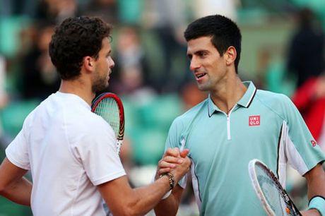 Paris Masters ngay 4: Djokovic khong duoc phep sai lam - Anh 1
