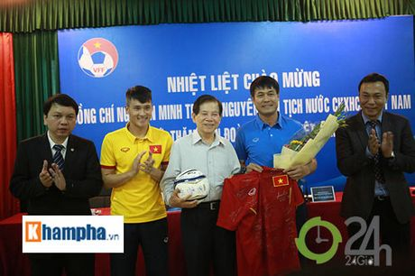 Nguyen Chu tich nuoc Nguyen Minh Triet khen HLV Tuan la ngoi sao moi - Anh 10