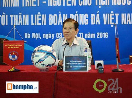 Nguyen Chu tich nuoc Nguyen Minh Triet khen HLV Tuan la ngoi sao moi - Anh 4