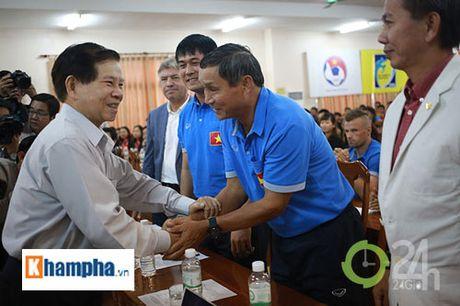 Nguyen Chu tich nuoc Nguyen Minh Triet khen HLV Tuan la ngoi sao moi - Anh 7