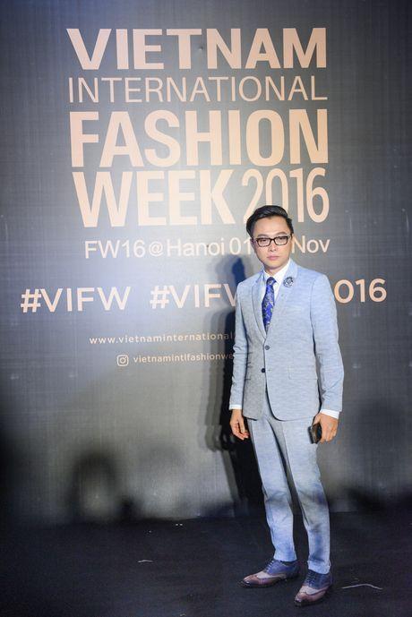 Rung sao Viet hoi tu long lay tren tham do Vietnam International Fashion Week 2016 - Anh 13