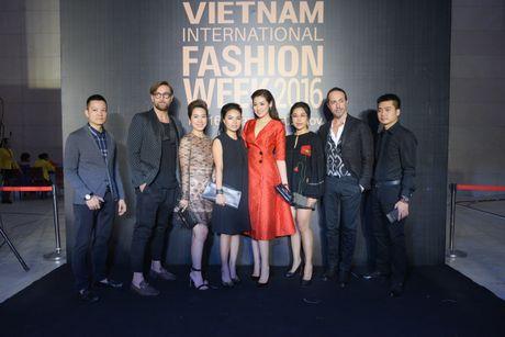 Rung sao Viet hoi tu long lay tren tham do Vietnam International Fashion Week 2016 - Anh 2