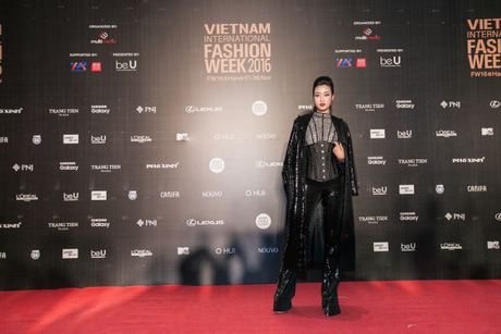Rung sao Viet hoi tu long lay tren tham do Vietnam International Fashion Week 2016 - Anh 4
