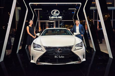 Lexus dong hanh cung su kien thoi trang uy tin nhat trong nam - Anh 4