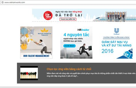 VietnamWorks: du lieu 4 trieu khach hang an toan - Anh 1