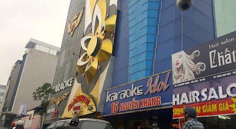Sau vu chay quan karaoke lam 13 nguoi chet: Ha Noi tam ngung cap phep kinh doanh tu 5.11 - Anh 1