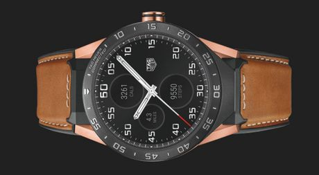 TAG Heuer Connected Rose Gold , ky nguyen moi cua dong ho smartwatch Thuy Si - Anh 1