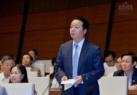 Bo truong Tran Hong Ha: Khong ne tranh, che day trach nhiem vu Formosa - Anh 1