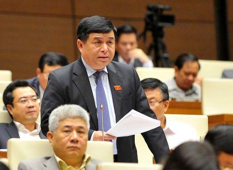 Bo truong Nguyen Chi Dung giai trinh ve 480 ty USD tai co cau kinh te - Anh 1