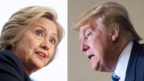 Clinton: Hay tuong tuong canh Trump o phong Bau duc - Anh 1