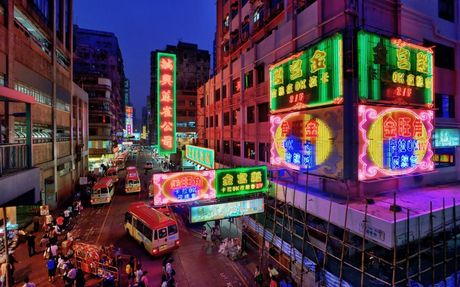 Kham pha khu vuc soi dong nhat Hong Kong - Anh 1