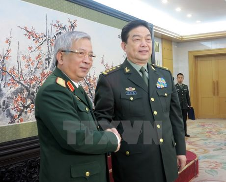Hop tac quoc phong Viet Nam - Trung Quoc da dat nhieu ket qua tot dep - Anh 1