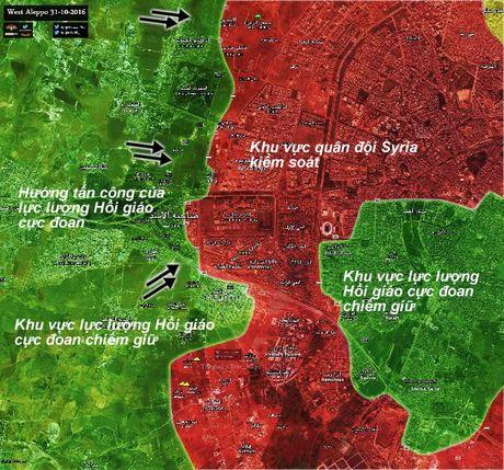 Chien su Syria: Ac liet cuoc chien duong pho o tu dia Aleppo - Anh 1