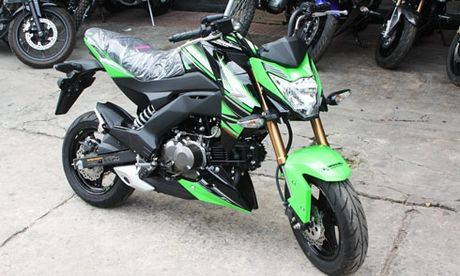 Kawasaki Z125 ban dac biet KRT Edition ve Viet Nam - Anh 1