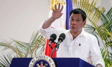 Ong Duterte tuc gian, goi My la 'khi' vi bi tu choi ban sung - Anh 1