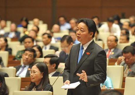 Bo truong Tran Hong Ha: Khong ne tranh trong xem xet trach nhiem ve su co Formosa - Anh 1