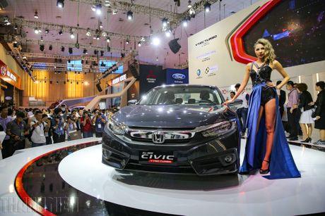 Honda Civic moi tai Viet Nam khong dinh loi phanh tay dien tu - Anh 1