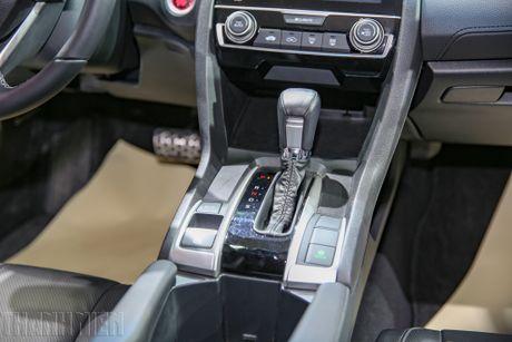 Honda Civic moi tai Viet Nam khong dinh loi phanh tay dien tu - Anh 2