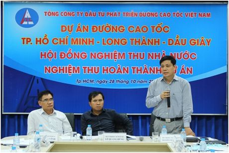 Nghiem thu hoan thanh cao toc TP. HCM – Long Thanh – Dau Giay - Anh 1