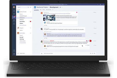 Microsoft chinh thuc cong bo Teams - doi thu cua Slack - Anh 1