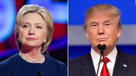 Ba Clinton van giu uu the truoc ong Trump - Anh 1
